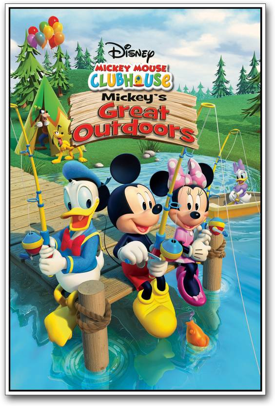 Mickey Mouse Cartoon Photographic Paper
