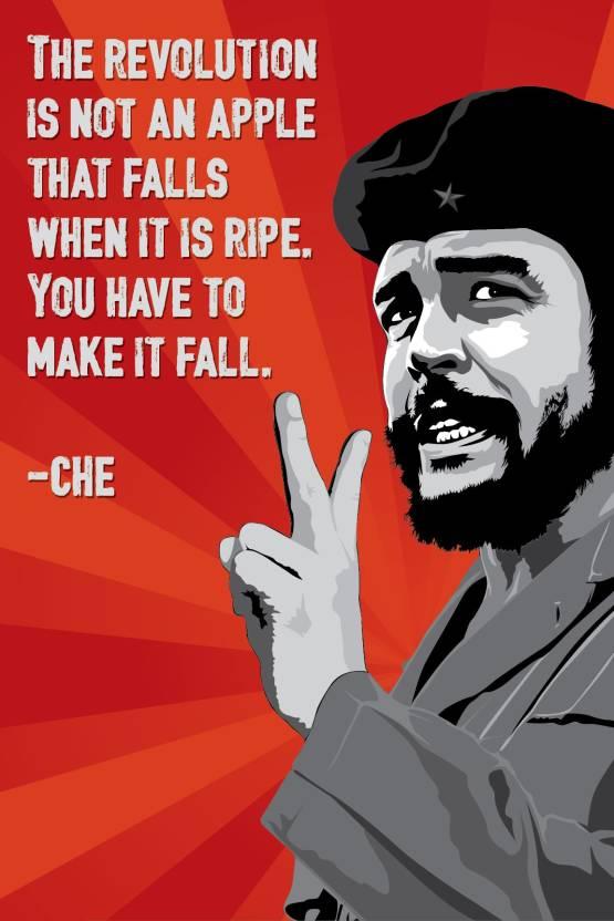 Design Merchants Che Guevara Quotes Paper Print Poster Fine Art Print