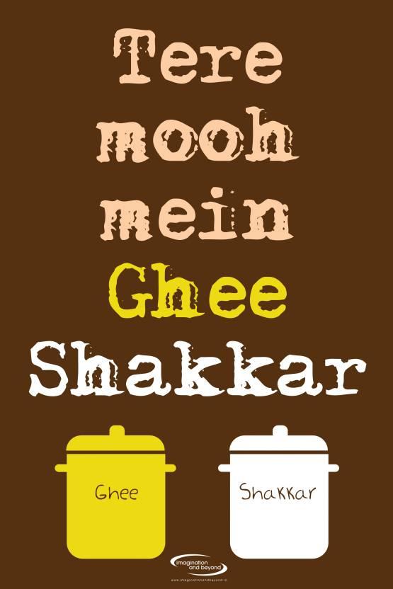 Ghee Shakkar Paper Print