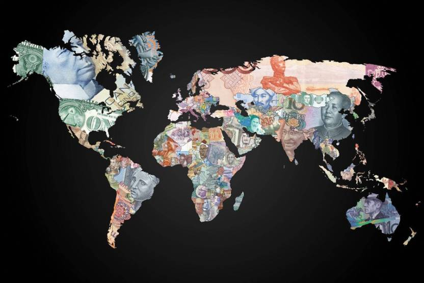 World map by great leader pics paper print maps posters in india world map by great leader pics paper print gumiabroncs Image collections