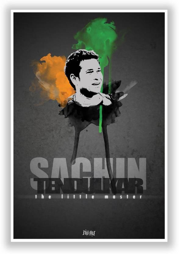 Sachin Tendulkar The Little Master God Of Cricket Paper