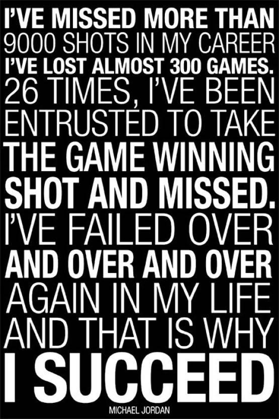 b12467f0050a39 Michael Jordan Quotes Poster Paper Print - Quotes   Motivation ...