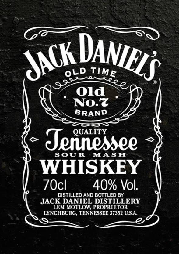Jack Daniel\'s Poster Paper Print - Abstract, Quotes ...