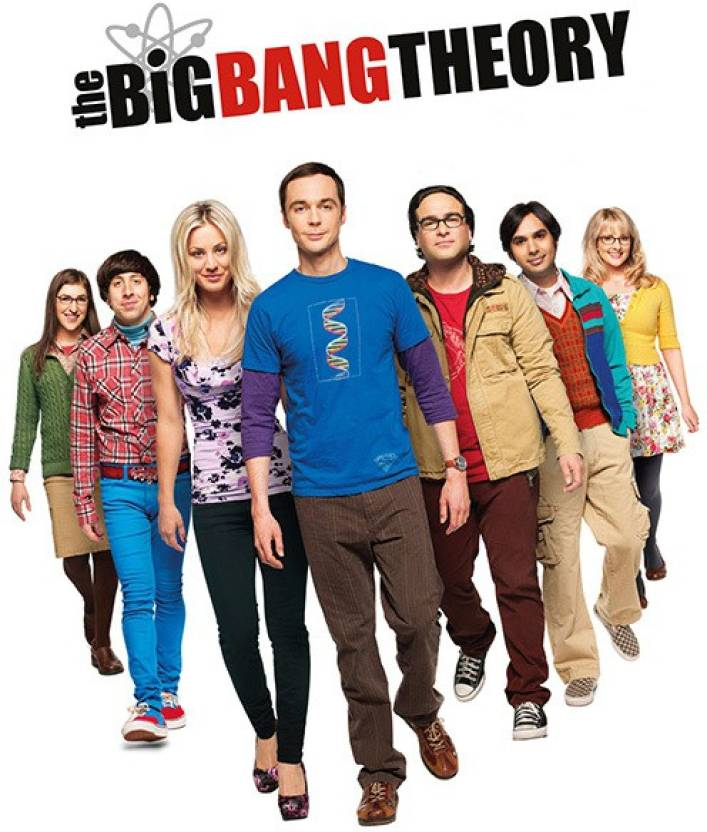 Big Bang Theory Fine Art Print Tv Series Posters In India