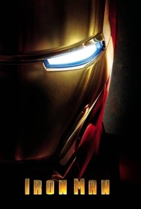 Iron Man Paper Print