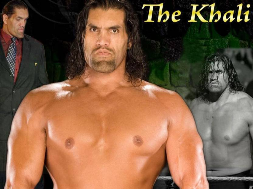 Wwe Star The Great Khali Paper Print Sports Posters In India Buy