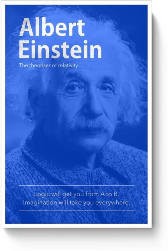 Posterguy Albert Einstein Poster Science Scientist Genius