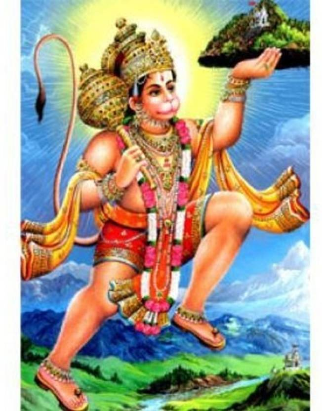3d photo hanuman 3d poster religious posters in india buy art
