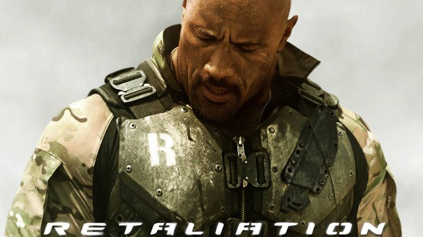 Movie GI Joe Retaliation The Rock HD Wallpaper Background Paper Print