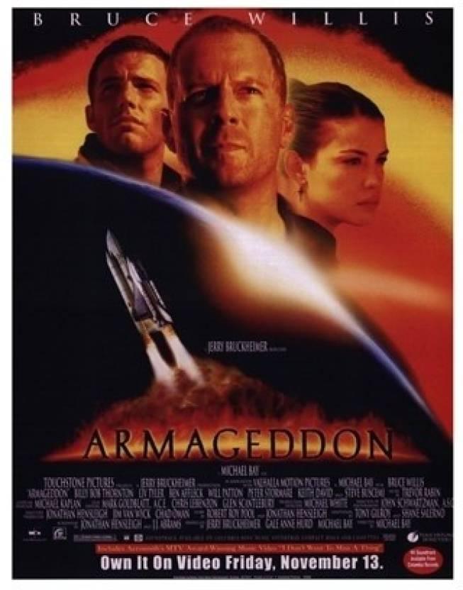 armageddon paper print movies posters in india buy art film