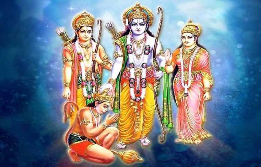 Lord Rama'S Family Fine Art Print - Religious posters in India - Buy