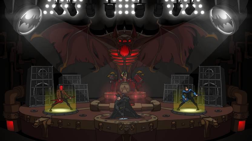 Music Batmetal Nightwing Red Hood DC Comics Jokers Funland Children Of Batman Joker Bat Cave