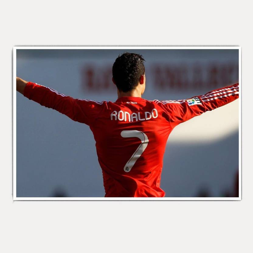 wholesale dealer 04737 15bc2 Cristiano Ronaldo CR7 (18x12) Paper Print - Abstract posters ...