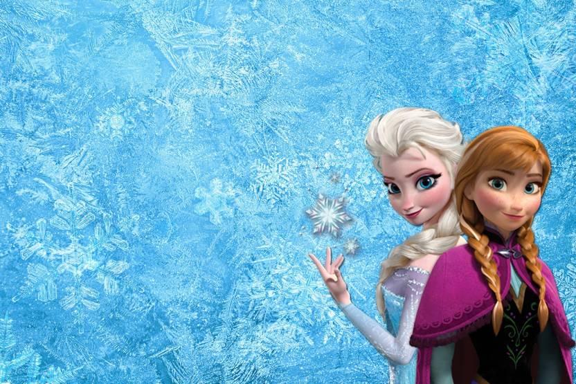 Movie Frozen Anna Elsa HD Wallpaper Background Paper Print