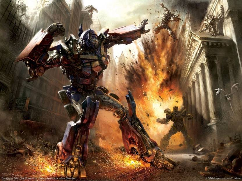 movie transformers optimus prime hd wallpaper background paper print