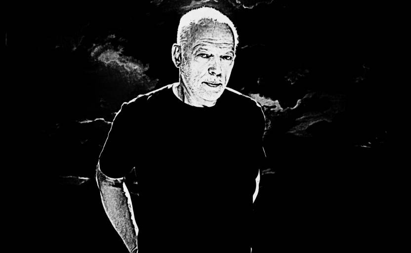 David Gilmour Pink Floyd Art Poster Paper Print Shoping