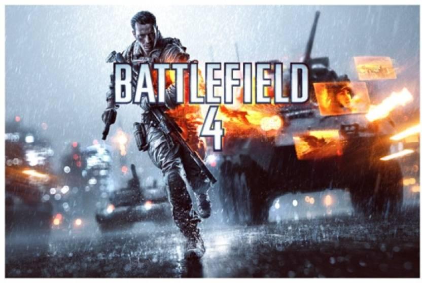 Battlefield 4 Poster Paper Print