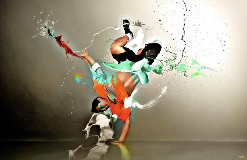 Colormart Hip Hop Dance Paper Poster Photographic Paper