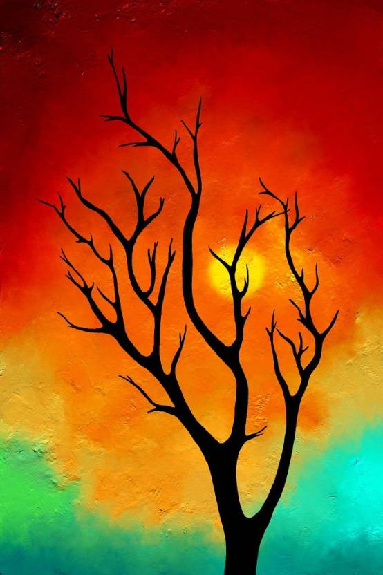Abstract Modern Art Canvas Painting Canvas Art Nature Art