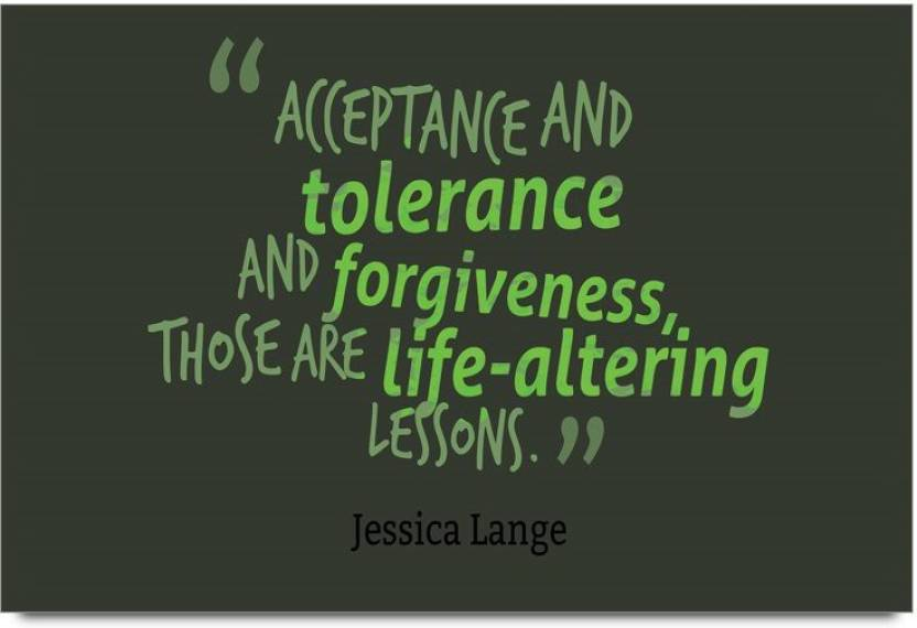 Forgiveness Quotes | Imerch And Tolerance And Forgiveness Quotes By Jessica Lange