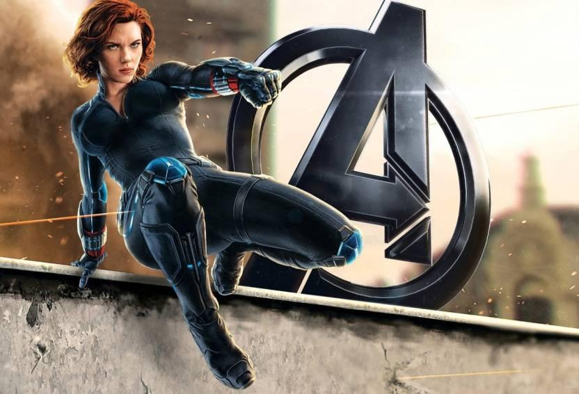 Eurekadesigns Poster Avengers 2 Black Widow Paper Print
