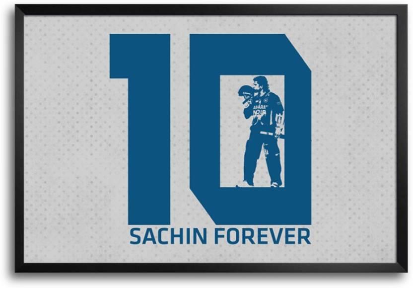 Sachin tendulkar Forever Frame Poster Paper Print - ShopMantra ...