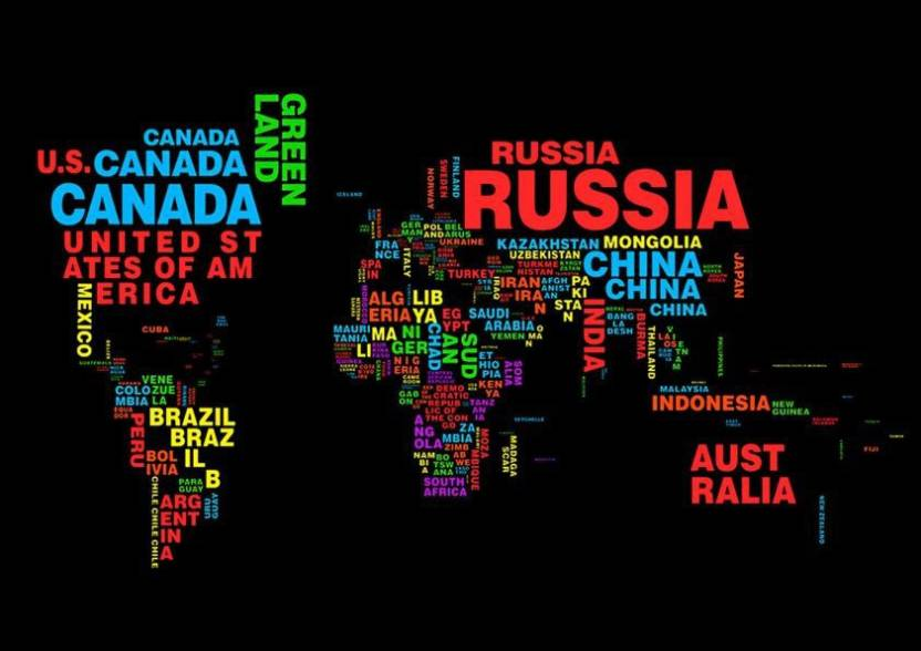 World map a3 non tearable high quality printed poster wall art world map a3 non tearable high quality printed poster wall art print size gumiabroncs Gallery