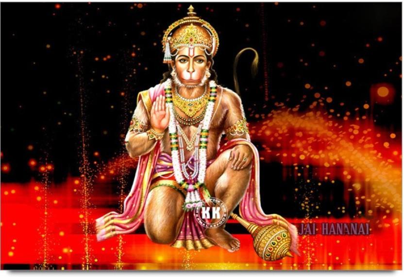 Hd wallpaper music 3d god hanuman