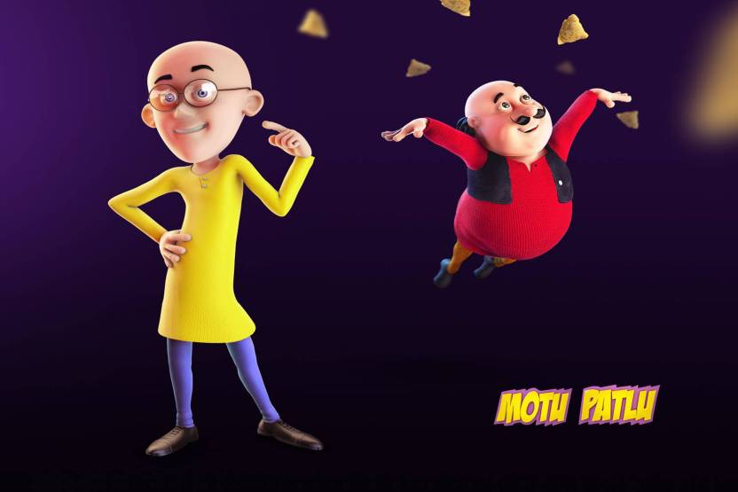 poster motu patlu cartoon 860 photographic paper animation