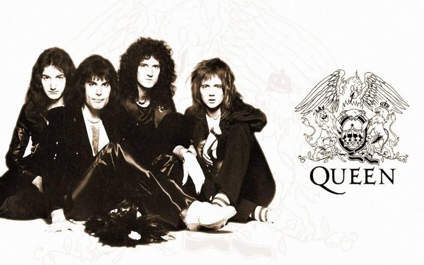 Music Wallpaper On Fine Art Paper Queen Band Hd Fine Art Print
