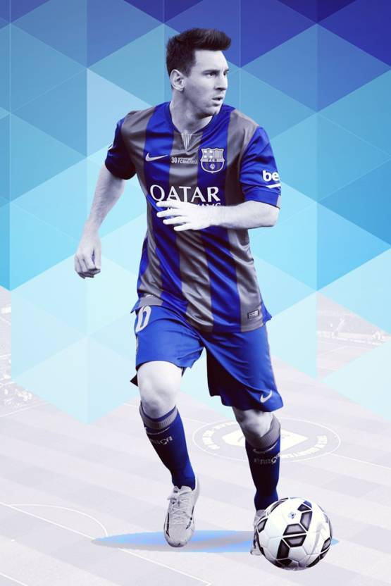 6a1c6c1588e Messi Poster for room. lionel messi Football Player Posters - images for  bedroom and home -  Sports-605 Paper Print (12 inch X 18 inch