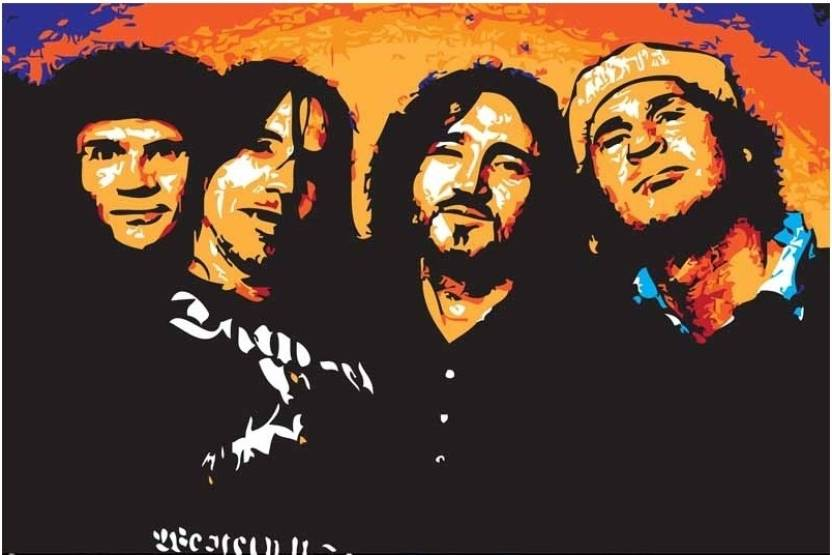 Red Hot Chili Peppers Paper Print Music Posters In India Buy Art