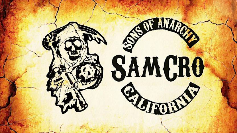 Sons Of Anarchy Art Poster Paper Print