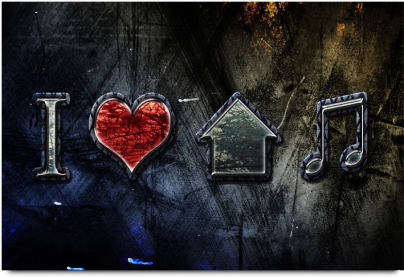 Music Lovers And Musical Quotes C Paper Print Music Abstract