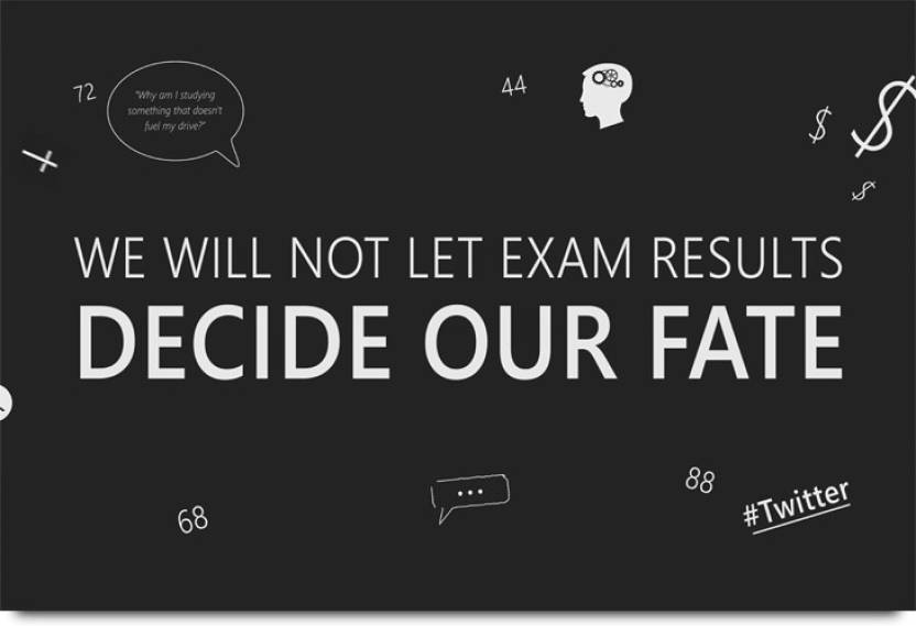 Exam Results Quote Paper Print - Quotes & Motivation posters in