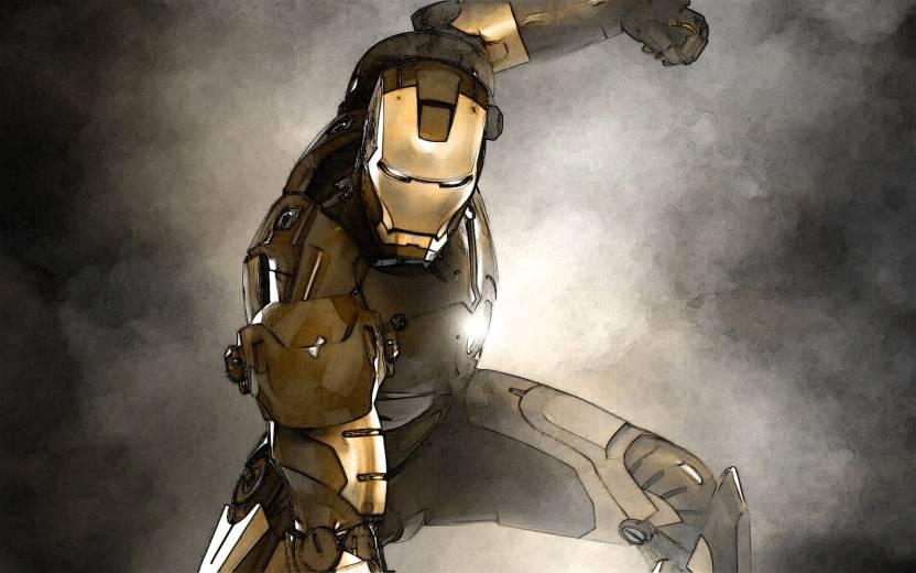 Movie Iron Man Iron Man Hd Wallpaper Background Paper Print Movies