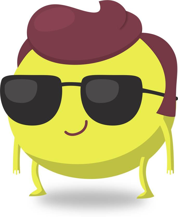 cool dude emoji - Canvas Print 11 x 16 Canvas Art - Himanshu