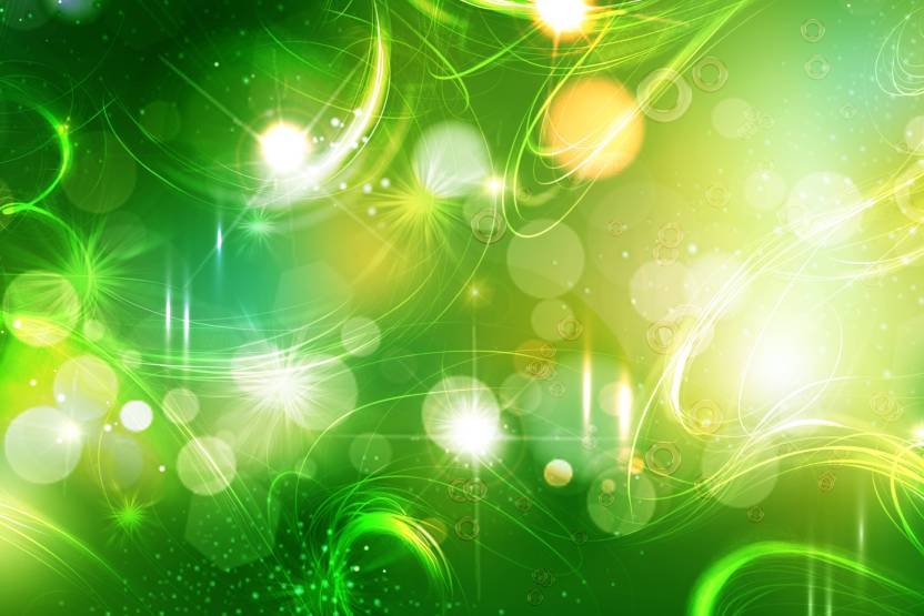 Green Hd Poster Art Bpsi2918 Photographic Paper Abstract