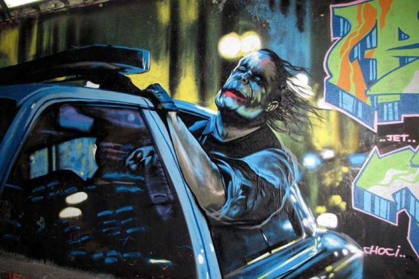 Joker Graffiti Photographic Paper Decorative Posters In India