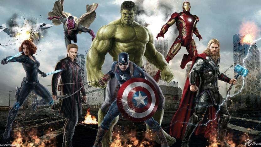 Movie Avengers Age Of Ultron The Marvel Poster Fan Art Chris Hemsworth Thor Captain