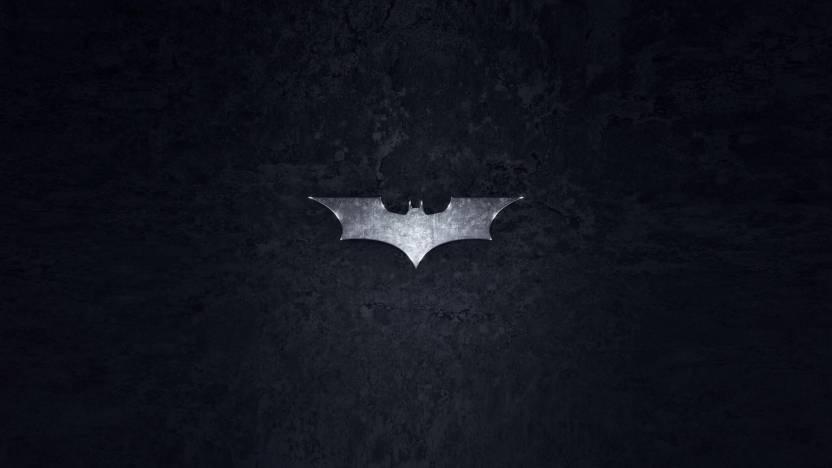 Batman Batman Logo HD Wall Poster Paper Print - Decorative posters