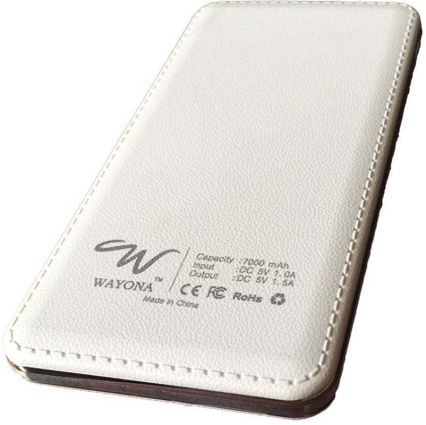 Wayona W4 7000 mAh Ultra Slim  7000 mAh Power Bank