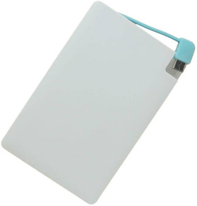 Wayona W5 Ultra Slim Credit Card Style 2500 mAh Power Bank