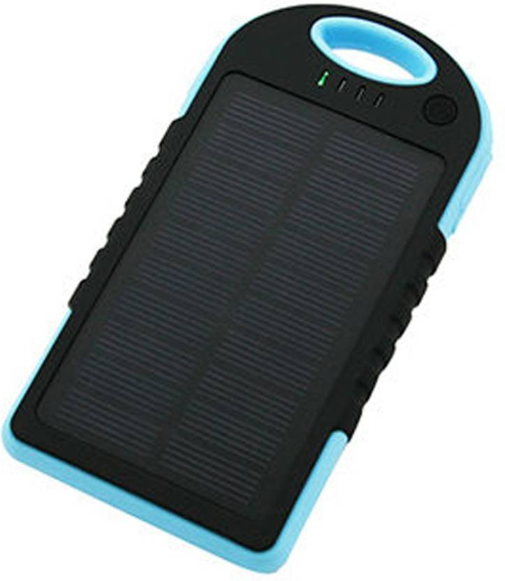 Lychee Bros LBPB6000 Solar Waterproof Real  6000 mAh Power Bank