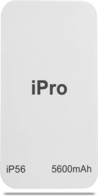 Ipro IP56 Smartphone  5600 mAh Power Bank