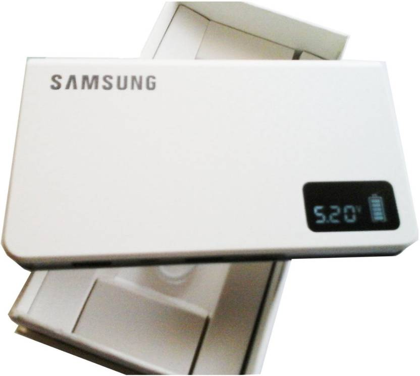 best service 95985 3a67d Samsung 20000 mAh Power Bank (TI, Universal Battery Pack With Digital  Display & 2 USB Ports)