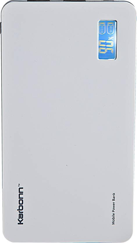 Karbonn Polymer 10 10000 mAh Power Bank