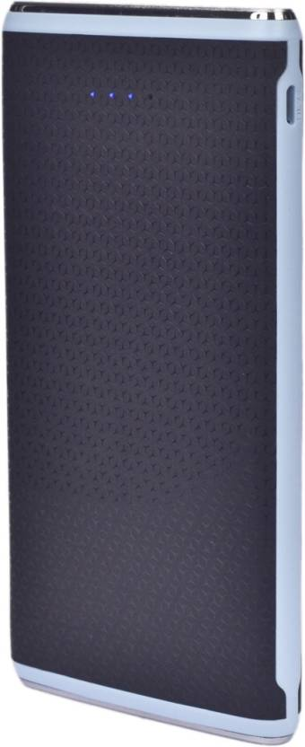 Yuron PB10400 mAh SliM with LED Torch,4 status LEDs keep you informed of remaining capacity,Super fast charge output  5V / 3.1A total 10400 mAh Power available at Flipkart for Rs.799