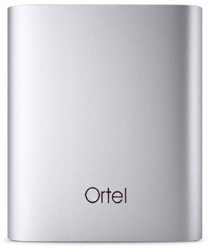 Upto 80% Off On Power Banks By Flipkart | Ortel or-10400-pb 10400 mah power bank 10400 mAh Power Bank  (Grey, Lithium Polymer) @ Rs.539