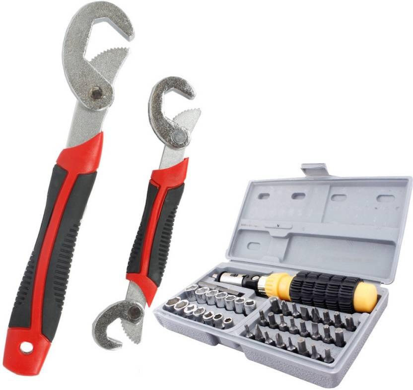 Asraw Snap N Grip & 41pcs Screwdriver Set Hand Tool Kit